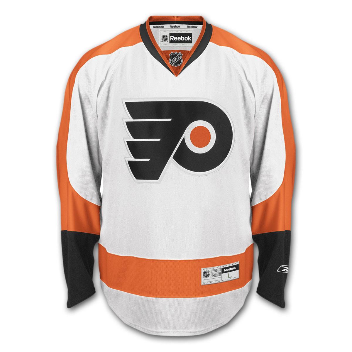 separation shoes 5071c 09302 Reebok NHL Replica Hockey Jersey - Philadelphia Flyers